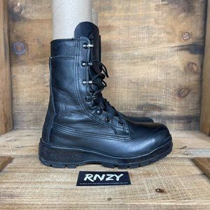 Belleville Steel Toe Leather Military Combat Boots